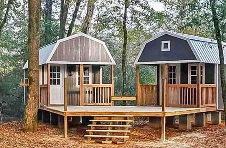 The 'We-Shed' Is a Dual Shed For Him and Her In Brock