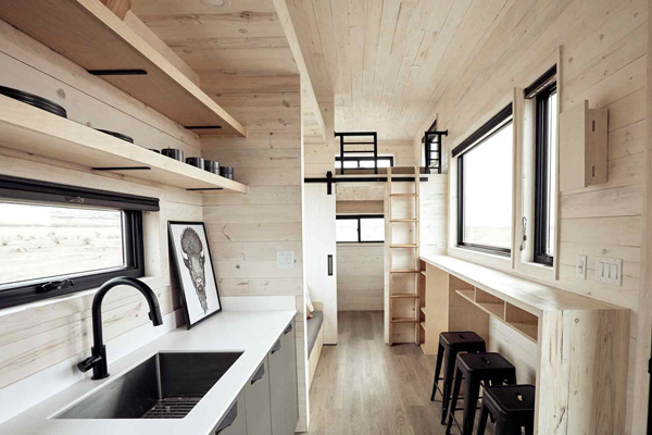 Tiny House Life in Brock from a Shell Kit