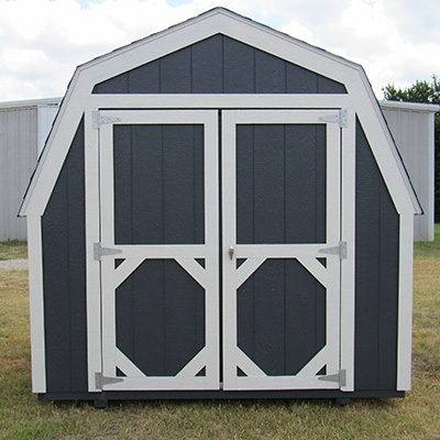 Ranch Barn Style Sheds in Brock