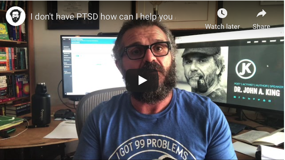 drjohnaking describes helping someone with PTSD